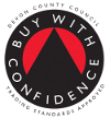 Buy with confidence, trading standards approved Devon County Council DCC